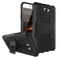 Outdoor odolný obal na mobil Huawei Y5 II - čierny