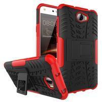 Outdoor odolný obal na mobil Huawei Y5 II - červený