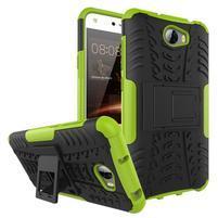 Outdoor odolný obal na mobil Huawei Y5 II - zelený