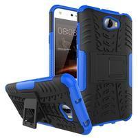 Outdoor odolný obal na mobil Huawei Y5 II - modrý