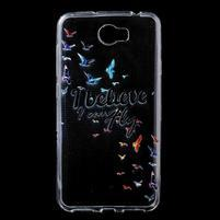 Softy gelový obal na mobil Huawei Y6 II Compact - ptáčci