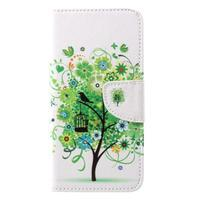 Emotive zapínacie knižkové puzdro na Huawei Y7 - zelený strom