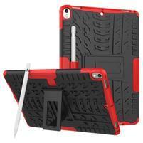 Outdoor odolný obal so stojančekom na iPad Pro 10.5 - červený