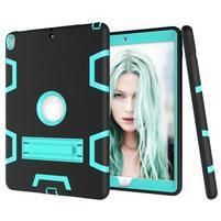 Kickdefend odolný obal na iPad Pro 10.5 - čierny/cyan