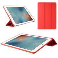 Tripass PU kožené polohovateľné puzdro na iPad Pro 10.5 - červené