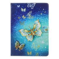 Patty zapínacie puzdro na iPad Pro 10.5 - zlatý motýľ