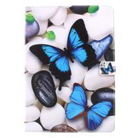 Patty zapínacie puzdro na iPad Pro 10.5 - modrý motýlik