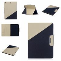 Duocolory PU kožené puzdro na iPad Pro 10.5 - zlaté