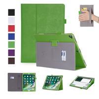 PU kožené puzdro so stojančekom na iPad Pro 12.9 2017 - zelené