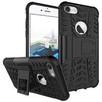 Outdoor odolný obal pre mobil iPhone 8 a iPhone 7 - čierne