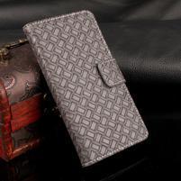 GintMat peňaženkové puzdro pre iPhone 7 a iPhone 8 - sivé