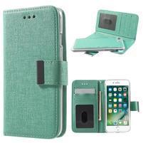 GT puzdro s vyberateľným obalom 2v1 na iPhone 8 a iPhone 7 - azúrovej
