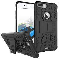 Outdoor odolný kryt pre iPhone 8 Plus a iPhone 7 Plus - čierne