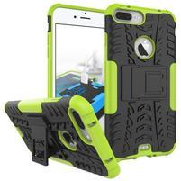 Outdoor odolný kryt pre iPhone 8 Plus a iPhone 7 Plus - zelený