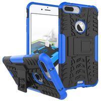 Outdoor odolný kryt pre iPhone 7 Plus - modrý