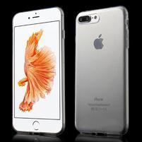 Ultratenký gélový obal pre mobil iPhone 7 Plus - Transparentný