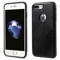 Armory odolný obal pre mobil iPhone 8 Plus a iPhone 7 Plus - čierne