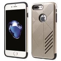 Armory odolný obal pre mobil iPhone 8 Plus a iPhone 7 Plus - zlaté