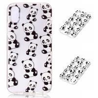 Bossi gélový obal na mobil iPhone X - panda