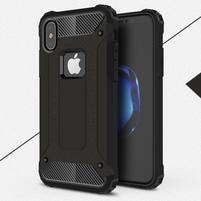 Armory odolný obal na iPhone X - čierny