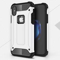 Armory odolný obal na iPhone X - biely