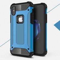 Armory odolný obal na iPhone X - modrý