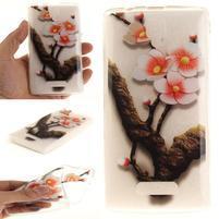 Printy gélový obal na mobil Lenovo A2010 - kvitnúca vetvička