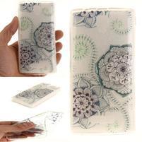 Printy gélový obal na mobil Lenovo A2010 - kvety