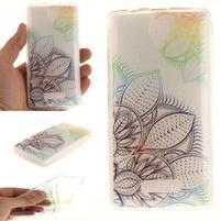 Printy gélový obal na mobil Lenovo A2010 - flower