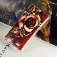 Hearts gélový obal na Lenovo A536 - ruže