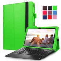 Litch PU kožené puzdro na Lenovo Miix 310 - zelené
