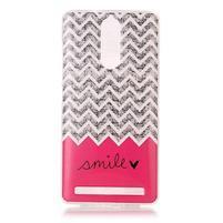 Printy gélový obal na mobil Lenovo K5 Note - smile