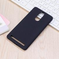 Matte gélový obal na Lenovo K5 Note - čierny