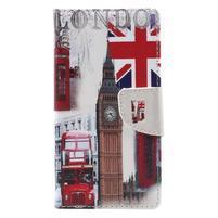 Emotive PU kožené puzdro pre mobil Lenovo K6 - London