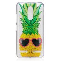 Funs gélový obal pre mobil Lenovo K6 - ananas