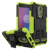 Outdoor odolný obal pre mobil Lenovo K6 - zelený