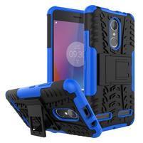 Outdoor odolný obal pre mobil Lenovo K6 - modrý