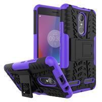 Outdoor odolný obal pre mobil Lenovo K6 - fialový