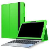 Litch PU kožené puzdro na Lenovo Miix 320 - zelené