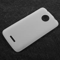 Matts gélový obal pre mobil Lenovo Moto C - bielý