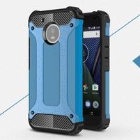 Armor odolný hybridný obal na Lenovo Moto G5 - modrý