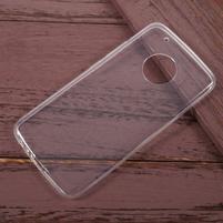 Transparentný gélový obal na Lenovo Moto G5 Plus