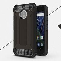 Armor odolný hybridný obal na Lenovo Moto G5s - čierny