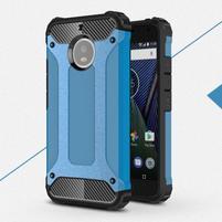 Armor odolný hybridný obal na Lenovo Moto G5s - modrý