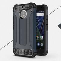 Armor odolný hybridný obal na Lenovo Moto G5s - tmavomodrý