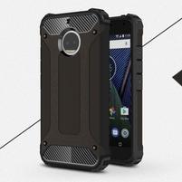 Armor odolný hybridný obal na Lenovo Moto G5s Plus - čierny