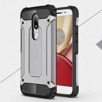 Armory gélový obal pre mobil Lenovo Moto M - šedý
