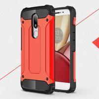 Armory gélový obal pre mobil Lenovo Moto M - červený