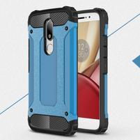 Armory gélový obal pre mobil Lenovo Moto M - modrý
