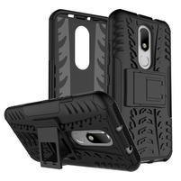 Outdoor odolný obal pre mobil Lenovo Moto M - čierny